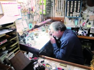 Jim Ricotta watchmaker jeweler goldsmith