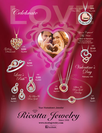 Ricotta Jewelry Valentine's Day