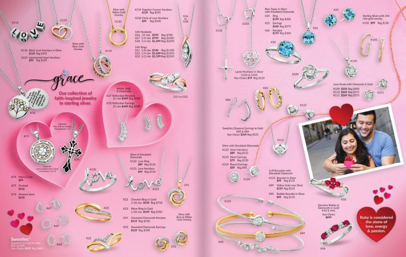 Be Mine, Valentines Day Jewelry Styles for February 2021